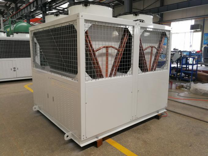 10kw ~ 50Kw Piston Compressor Freezer Condensing Unit Low Temp For Industry Freezer