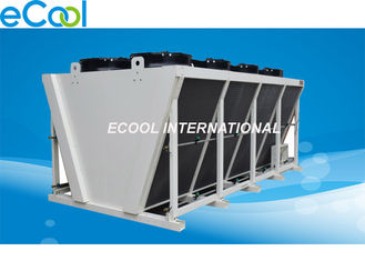 Cold Storage Refrigeration Plant Air Cooled Condenser V Shape High Efficiency