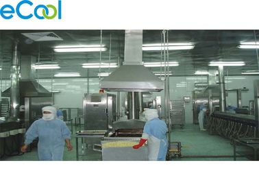 5000 Square Meter Cold Room Warehouse For Meatballs Producing And Meat Processing