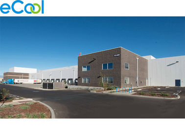 3000㎡ / Refrigeration Cold Storage Logistics And Distribution Center With High Rise Racks