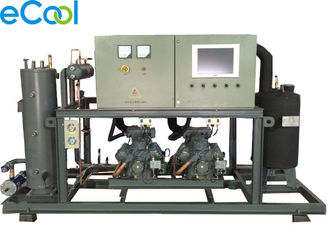 Cold Storage Warehouse Refrigeration Compressor Unit EPBH2-30 With PLC