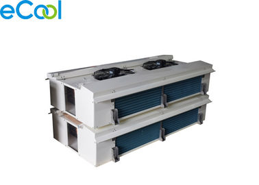 Industrial Air Cooled Evaporator For Cold Storage Inner , Air Cooler With Copper Tube Al Fins