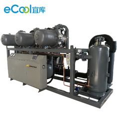 Refrigerating Capacity 160HP Screw Parallel Compressors Unit for Fruits Cold Room
