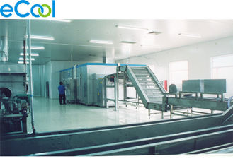 Steel Structure Chicken Cold Storage / OEM Meat Coolers Refrigeration