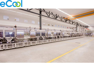 Customized Size Frozen Food Storage Warehouses With Electrical Controlling Cabinet