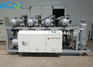 240HP Refrigeration Compressor Unit , High Temperature Refrigerating Compressor For Vegetables Cold Room