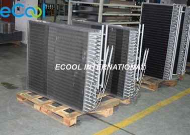 Dry Cooler Finned Coil Heat Exchanger , SS Refrigeration Heat Exchanger