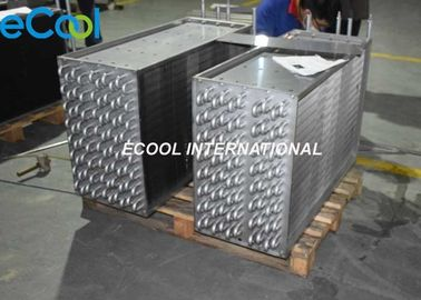 Compact Structure Fin And Tube Heat Exchanger For Evaporator , Condenser