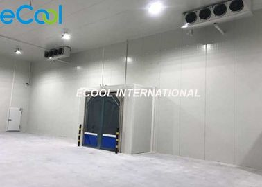 PUR Panel Insulation Refrigerated Storage Rooms , Foods City Cold Storage