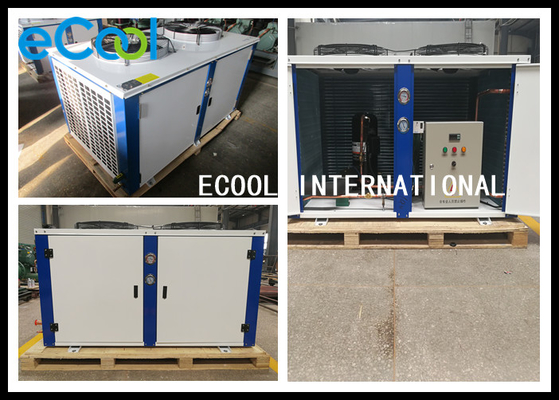 Low Noise Freezer Condensing Unit For Warehouse And Cold Storage