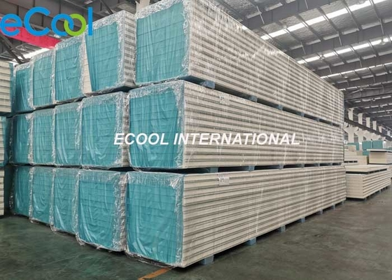 Colored Sandwich Cold Storage Panels For Warehouse Refrigeration Units