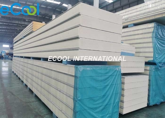 Modular Cold Room Polyurethane Insulation Panel / 100mm Coolroom Panels