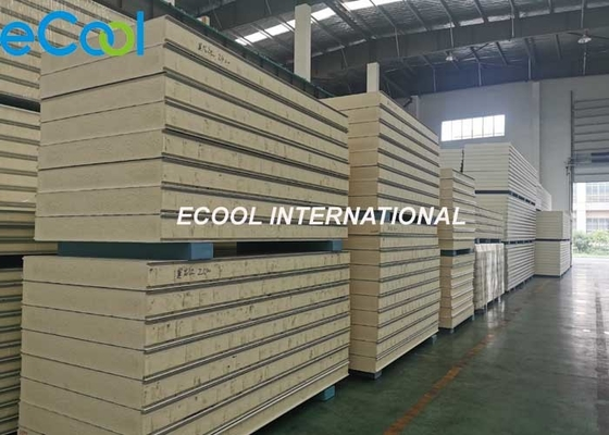 Agriculture Warehouse Cold Storage Panels With Firm Structure Thermal Insulation