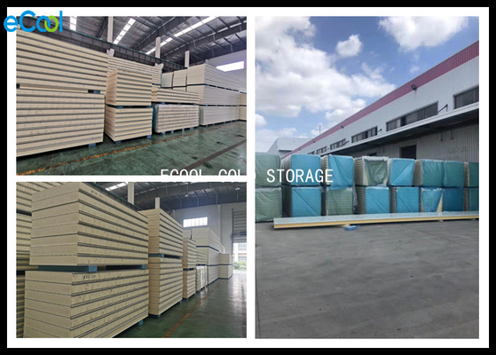 Cold Room Insulated Cooler Wall Panels / Insulated Sandwich Panels