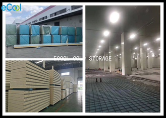 Color Steel Sheet Cold Storage Panels With Low Thermal Conductivity