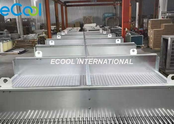 High Efficiency Refrigeration Heat Exchanger , Finned Tubes Heat Exchanger