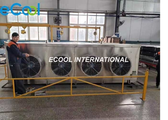Energy Saving Air Cooled Evaporator For Food Industry Refrigeration