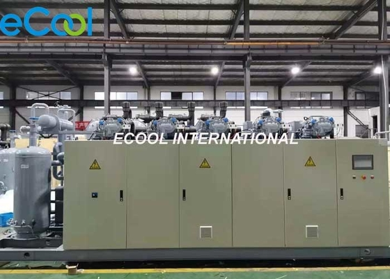 Air Cooled Industrial Freezer Condensing Unit For Fish Storage Room