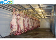 China 5000 Tons Large Industrial Cold Storage , Beef Processing Cold Storage Room factory