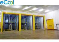 Custom Frozen Food Storage Warehouses , PU Panel Cold Storage For Tuna Processing