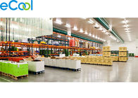 China Walk In Food Storage Warehouse , Freon R22 / R404a Cold Storage Area factory