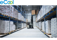 3000 Tons Frozen Food Storage Warehouses Colored Steel PUR Insulated Sandwich Wall Board