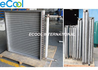 Steam Coil Finned Tube Heat Exchanger Air Cooled Evaporator Parts Anti Corrosion