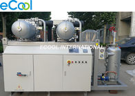 Unit Refrigerating Capacity 160HP 2pcs Screw Parallel Compressors Unit with PLC for Refrigeration System