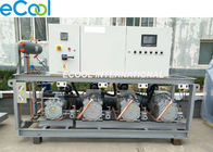 Fresh Keeping Compressor Rack Unit , Cold Storage Refrigeration Units EPBH4-25