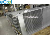 Anticorrossion Finned Tube Heat Exchanger For Waste Gas treatment Dry Cooler