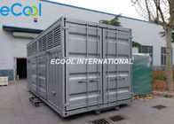 Modular Refrigeration Station with Compressor Unit , Control and Valves inside, No Need Machine Room