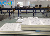 PU Colored Steel Thermal Insulation Polyurethane Board Size Customized For Cold Room