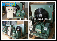 Compact Central Air Conditioner Condenser / Commercial Condensing Unit