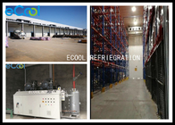 Large Scale Custom Cold Storage Built In Already Existed Warehouse With Electric Sliding Door