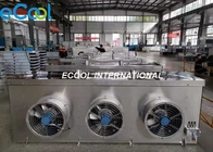 China Stainless Steel Evaporator In Refrigeration System / Compressor Condenser Evaporator factory