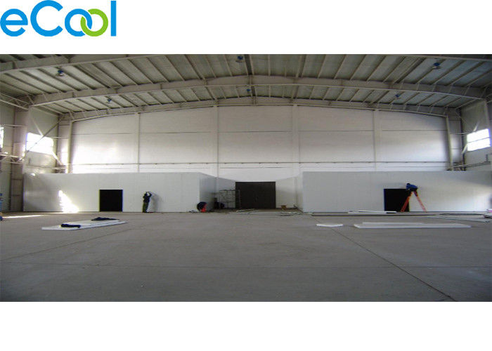 Customized Size Frozen Food Storage Warehouses For Seafood Processing Factory