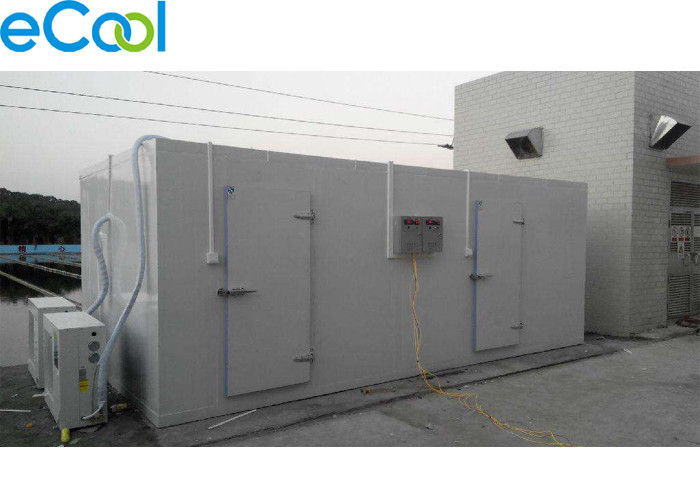 Movable PU Panel Assembling Mini Cold Storage Below 100 Tons For Frozen Meat
