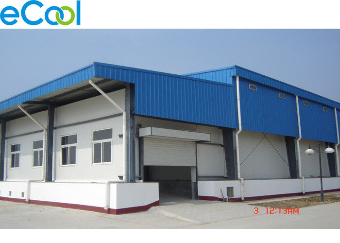 Steel Structure Multi Purpose Cold Storage Warehouse 15000 Tons With Blast Freezer