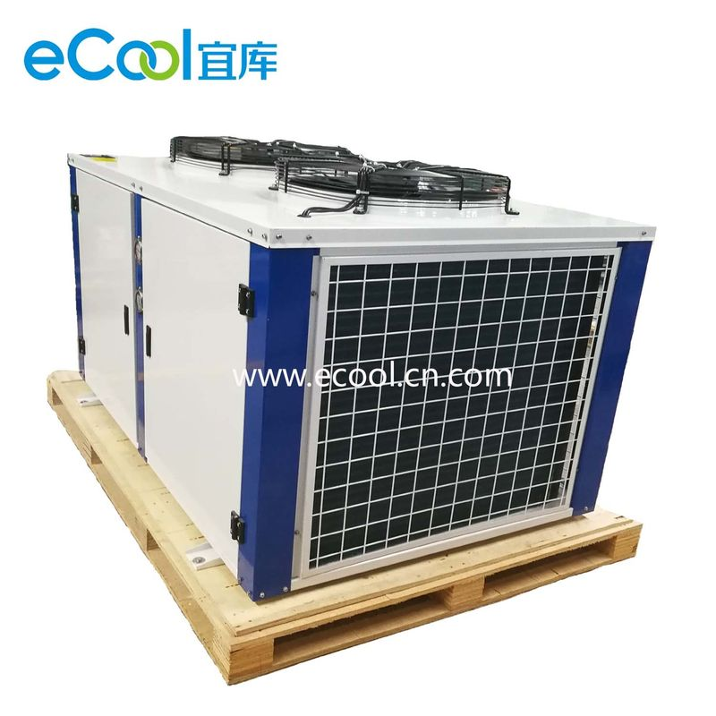 Simple Structure Freezer Condensing Unit Easy For Installation And Maintenance
