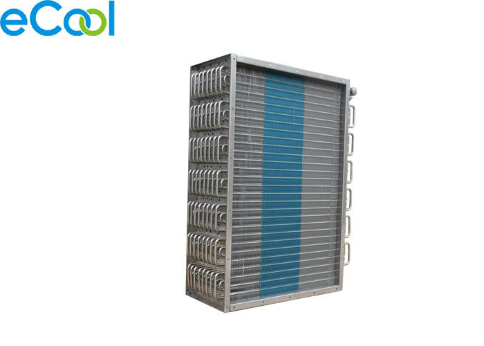 Air Cooled Aluminum Fin Evaporator Coil For Cold Storage , Custom Copper Tube