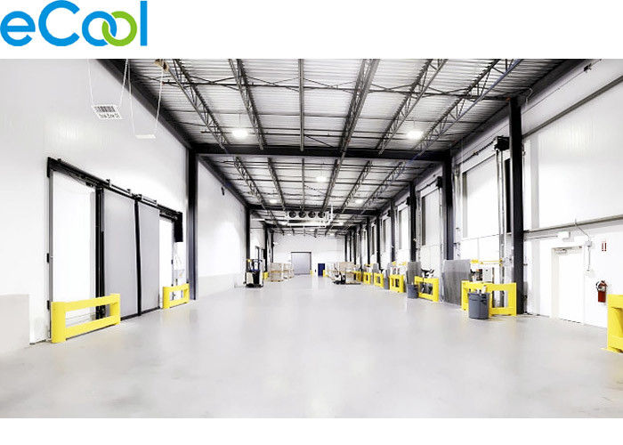 Custom Size Cold Storage Logistics With PU/PUR/PUF Panel +15C~-25 ℃