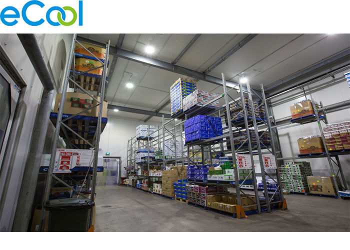 Low Temperature Cold Storage Refrigeration Customized For Frozen Food Preservation