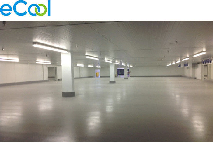 PU Panel Refrigeration Frozen Food Storage Warehouses With Anti Explosion Cold Room Lights