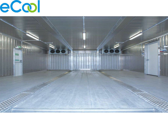 Steel Structure Cold Storage PU Panel Assembling For Frozen Vegetables And Fruits
