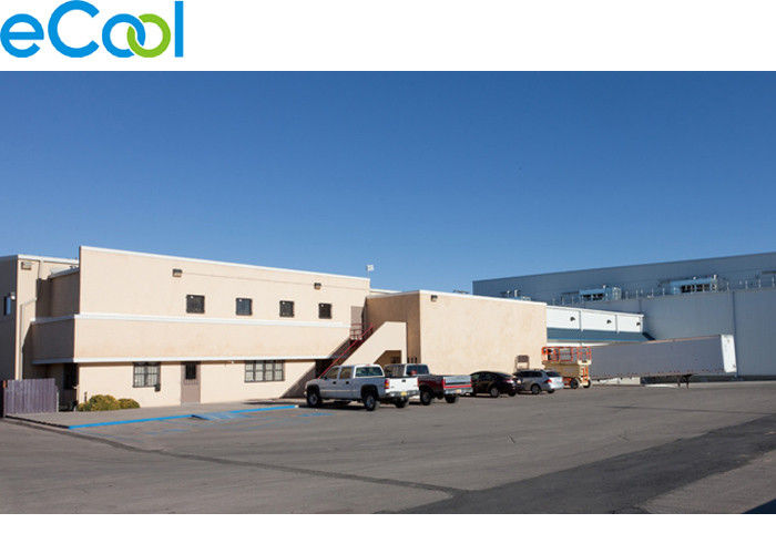 Low Temperature Frozen Food Storage Warehouses For Cargo Distribution Center