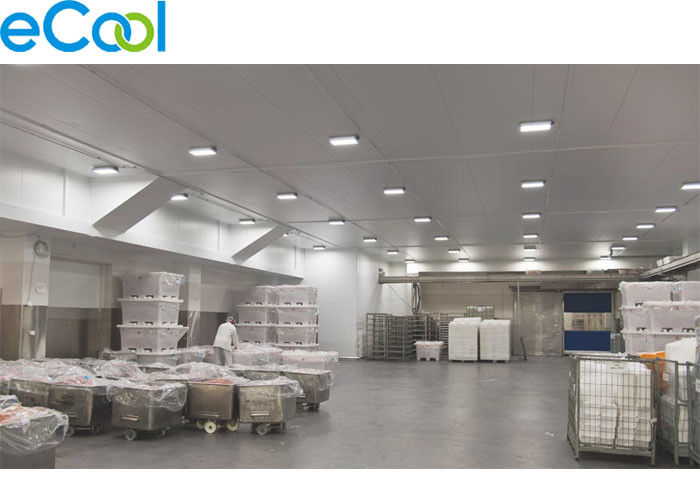 Stainless Steel Frozen Food Storage Warehouses , Industrial Refrigeration  Freezer Food Processing