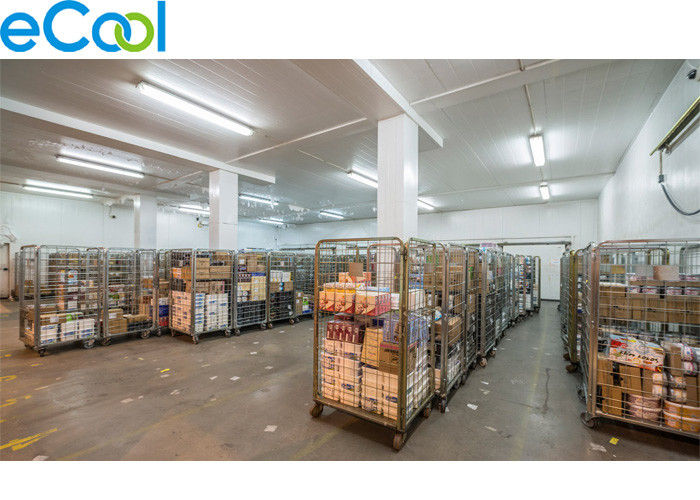 Merveilleux Industrial Refrigeration Food Storage Warehouse With Colored Steel For  Prepared Food