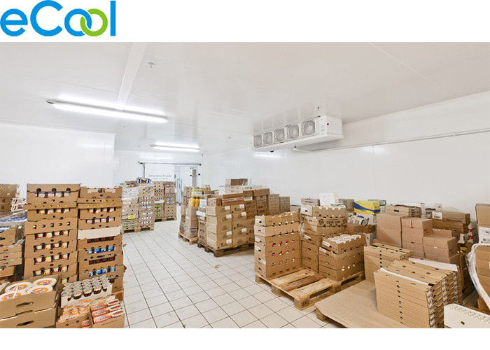 32 ℉~35F  Insulated Board Dairy Products Cold  Rooms  Warehouse With Refrigeration System