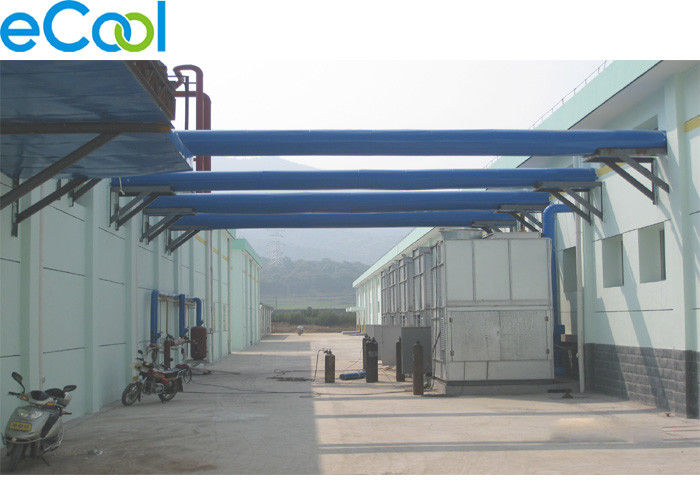 Low Temperature Frozen Food Storage Warehouses With Electrical Controlling System
