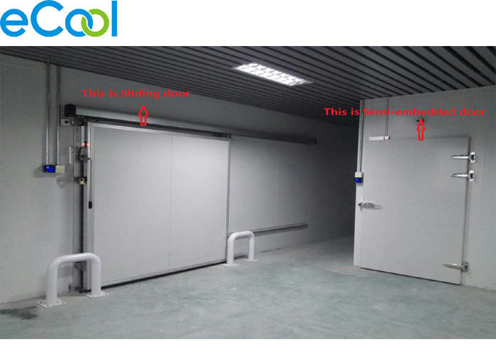 White Sliding Cold Storage Panels With Beautiful Appearance Decoration